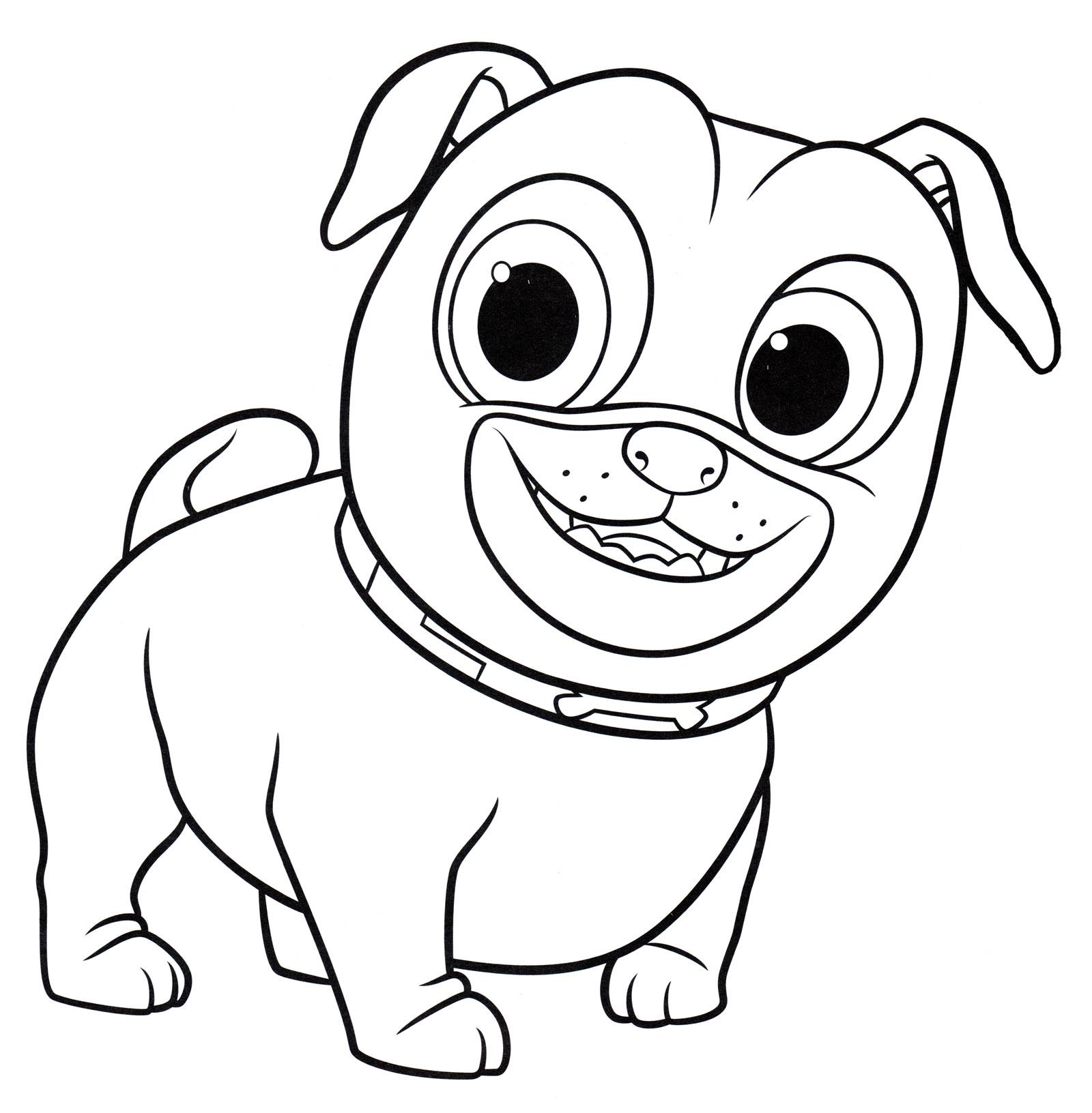 того, картинки раскраски щенки мопса использования цветка