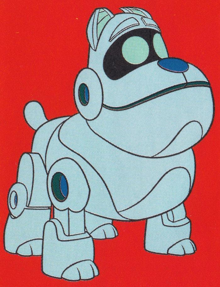 Раскраска Робот-собака ГАВ | Раскраски Дружные мопсы