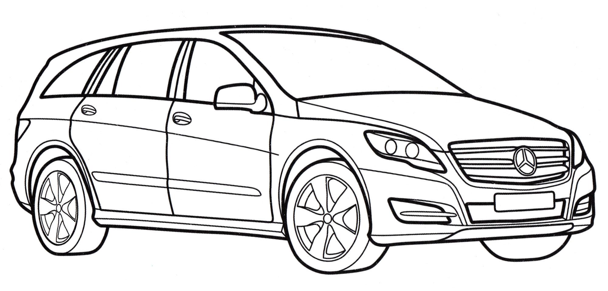 10+ Mercedes-Amg Раскраска