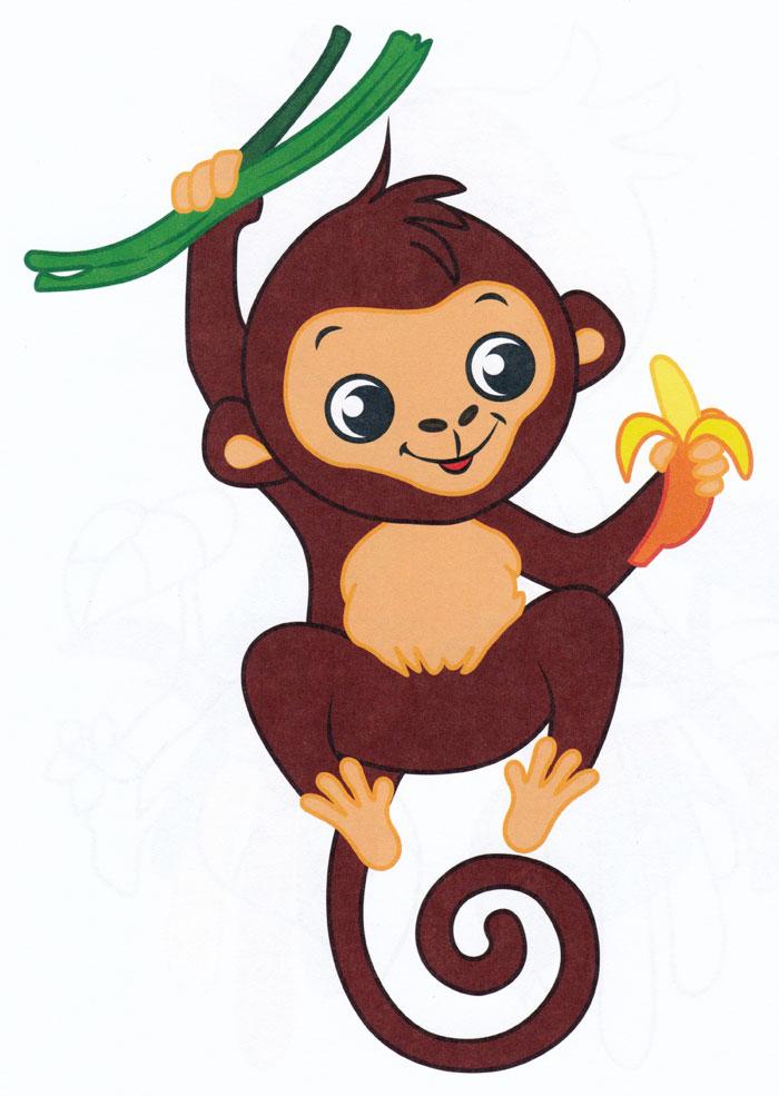 обезьянка на ветке картинки только разломать