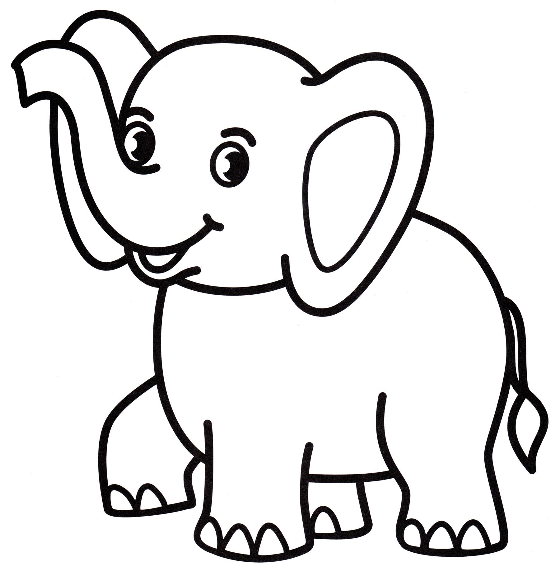качестве картинка слоника для раскрашивания проезда