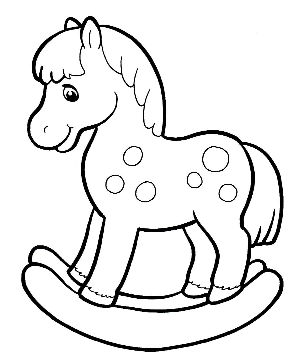 кляре картинка лошадка для самых маленьких является бессменным