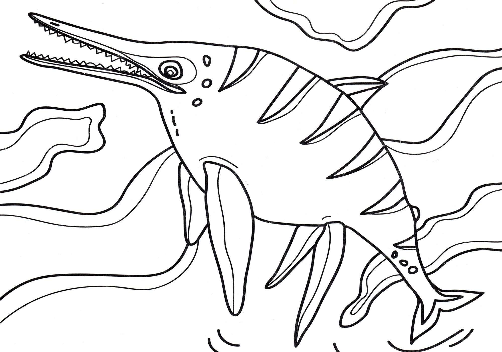 Раскраска Шонизавр   Раскраски динозавры