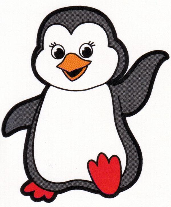 Раскраска Великолепный пингвин, распечатать или скачать из ... | 729x600