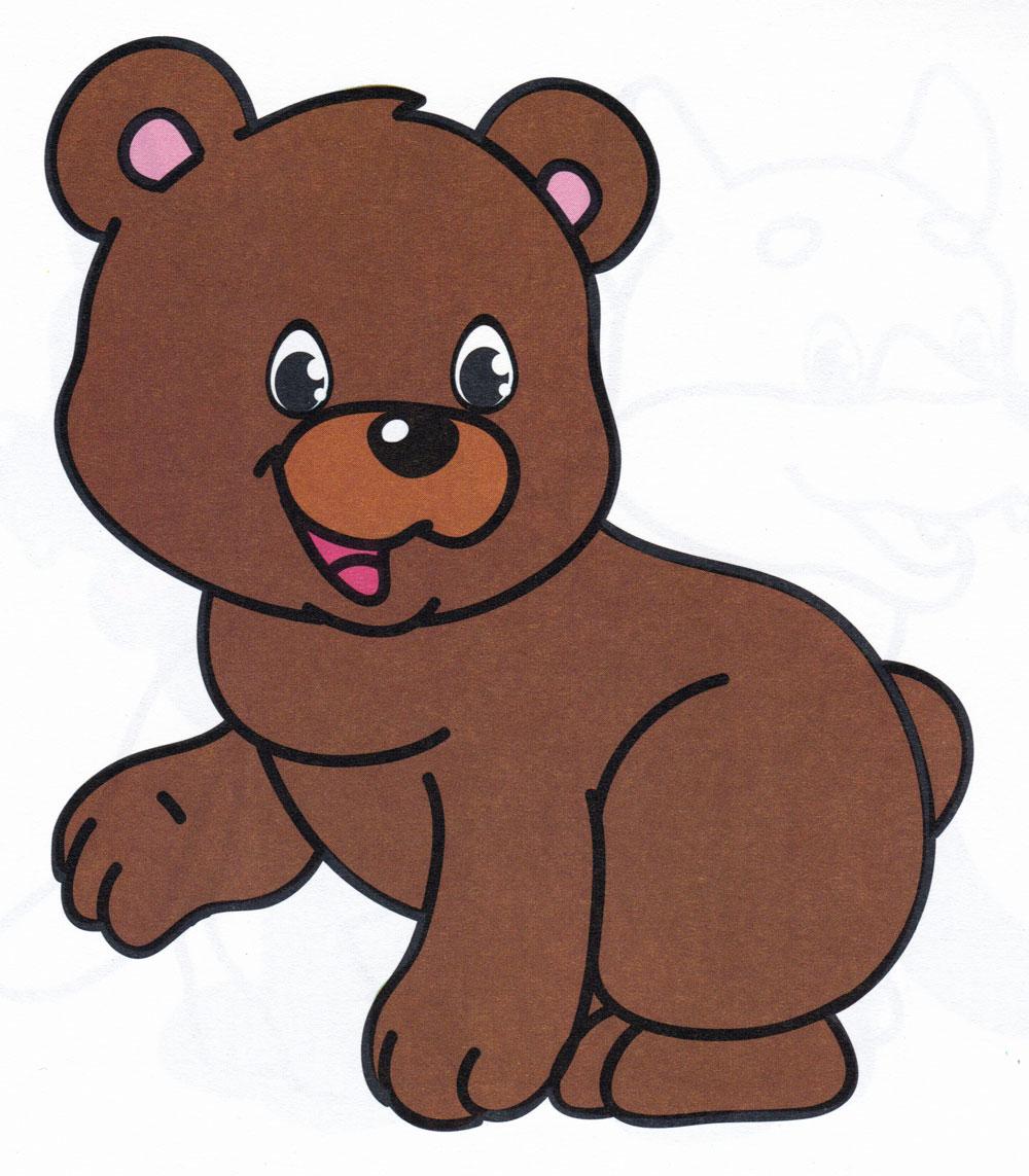 Медведь нарисованная картинки для детей