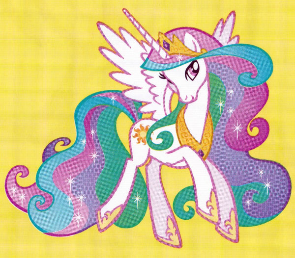 Раскраска Принцесса Селестия - распечатать бесплатно