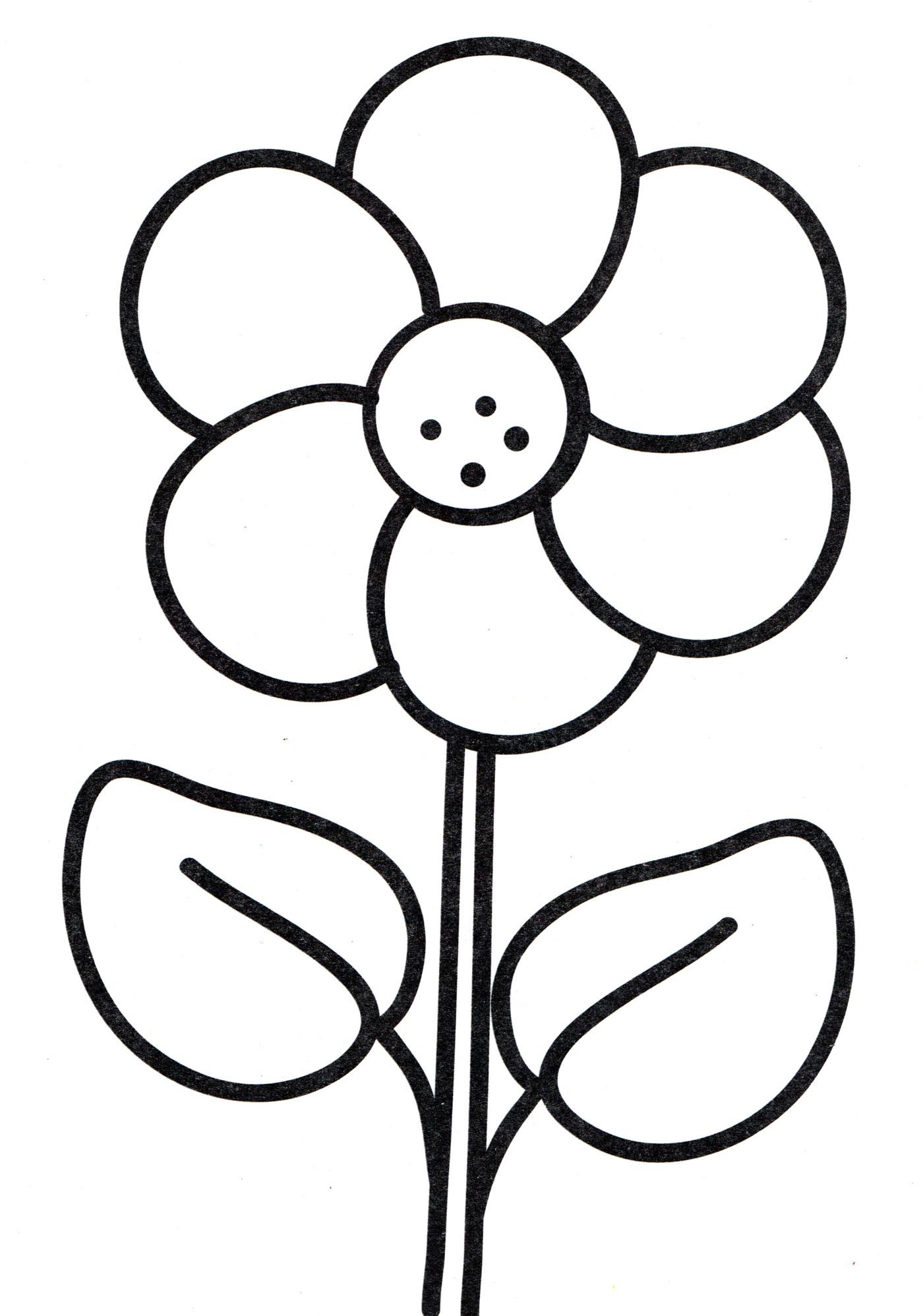 картинки раскраски цветы крупные шаблоны самарского областного суда