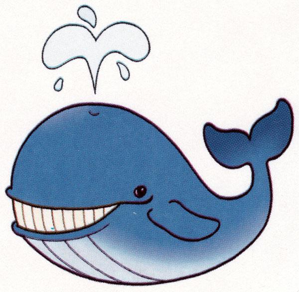 Картинка кита для распечатки