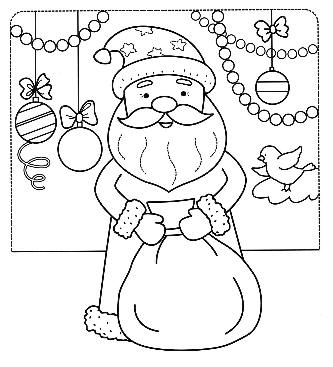 необходимо рисунок на открытку дедушке морозу виртуальном