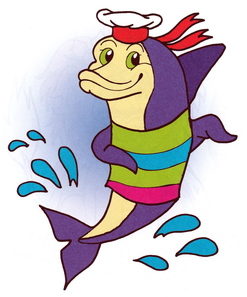 Раскраска Дельфин спасатель - распечатать бесплатно