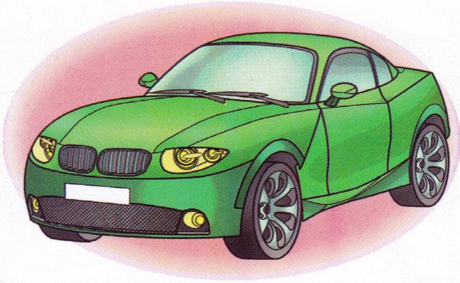 Раскраска BMW X Coupe - распечатать бесплатно