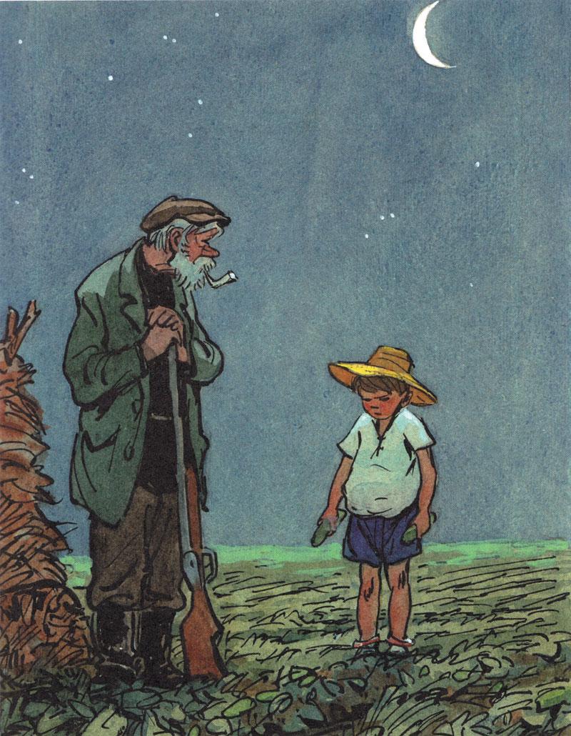 Картинка из рассказа огурцы