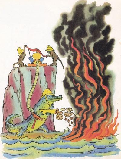 Картинка путаница по чуковскому