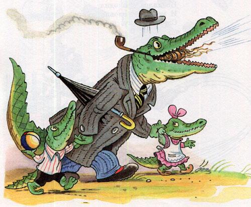 Мойдодыр - крокодил