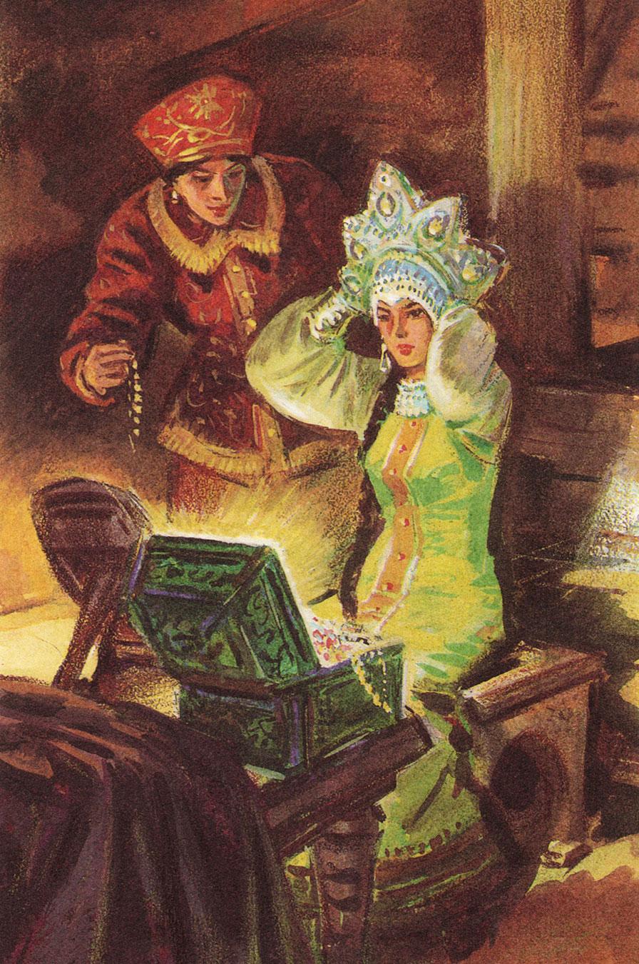 Картинки к сказкам бажова малахитовая шкатулка, картинки