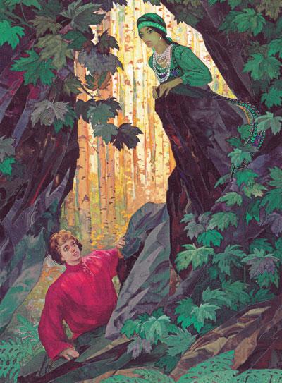Хозяйка медной горы сказка Бажова П.П.
