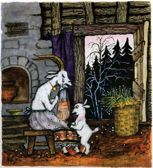 Сказка Волк и семеро козлят - фото 6