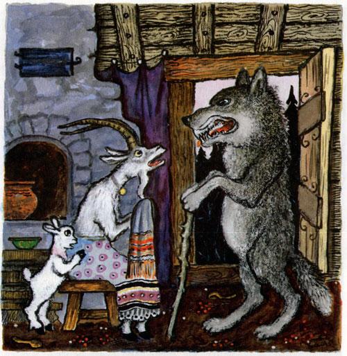 Сказка Волк и семеро козлят - фото 7