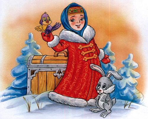 Сказка Морозко - картинка 6