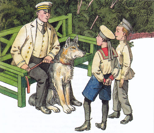 Житков про волка картинки