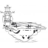 Раскраска Ракетный катер Заречный | Раскраски корабли
