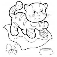 Раскраски для малышей - распечатать бесплатно