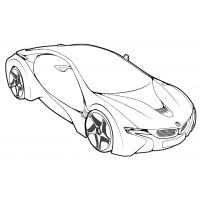 Раскраска Bugatti Veyron 16.4 Super Sport - распечатать ...