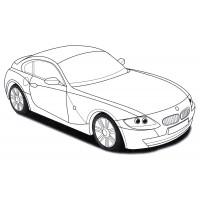 Раскраски машины BMW - распечатать бесплатно