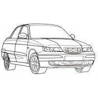 Раскраски машины ВАЗ - распечатать бесплатно