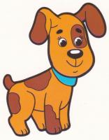 Раскраска Пятнистая собака - распечатать бесплатно