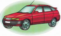 Автомобили ВАЗ раскраски. Распечатать картинки с машинами ВАЗ